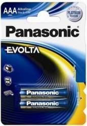 Baterii Panasonic Alkaline Evolta Lr03Ege/2B 2 bucatip Acumulatori Baterii Incarcatoare