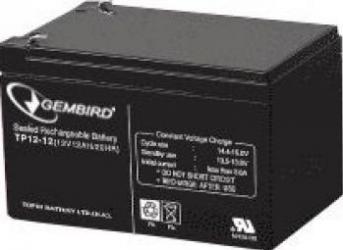 Acumulator UPS Gembird 12V 12A BAT-12V12AH Acumulatori UPS