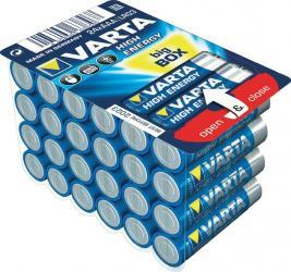Baterii Varta High Energy AAA LR03 pachet cu 24 bucati Acumulatori Baterii Incarcatoare