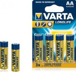 Baterii Varta Longlife Extra LR6 AA - 6buc