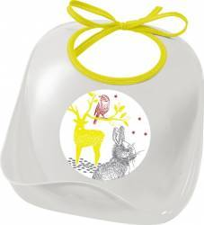 Baveta plastic- Iepuras Beaba Cani, pahare, accesorii masa