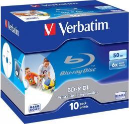 BD-R DL 50GB 6x Verbatim 10 buc set CD-uri si DVD-uri