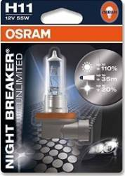 Bec auto Osram H11 12V 55W PGJ19-2 Night Breaker Unlimited Blister