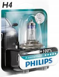 Bec auto Philips H4 12V 60 55W P43t X-Treme Vision Plus Blister