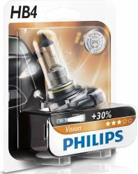 Bec auto Philips HB4 12V 51W P22d Premium Blister Becuri si sigurante auto