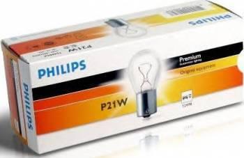 Bec auto Philips P21W 12V 21W BA15s