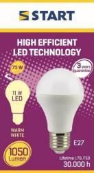 Bec LED Mat Clasic A (A60) 11W E27 75W 2700K 1050lm START Becuri