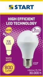 Bec LED MAT, CLASIC A, START, 800lm Becuri