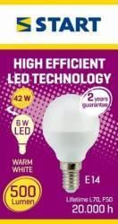 Bec LED Mat Clasic P (G45) 6W E14 42W 2700K 500lm START