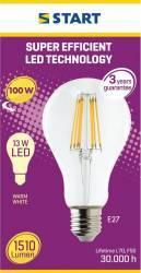 Bec LED Start, E27, 13W, 1510 lm, A++, lumina calda Becuri