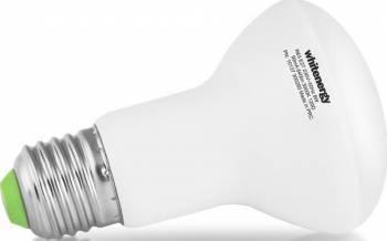 Bec LED Whitenergy 18 SMD 8W E27 WW 230V Becuri