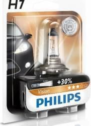 Bec Philips H7 12V 55W PX26d Premium Blister Becuri si sigurante auto