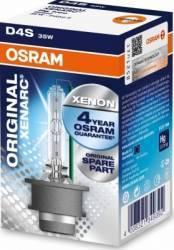 Bec Xenon Osram D4S 12 24V 35W P32d-5 Becuri si sigurante auto