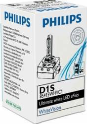 Bec Xenon Philips D1S 12 24V 35W Pk32d-2 White Vision Becuri si sigurante auto
