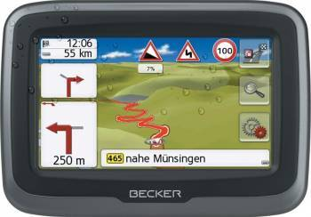 GPS Becker Mamba 4 LMU Plus Navigatie GPS