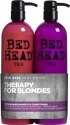 Set Tigi Bed Head Dumb Blonde Shampoo + Conditioner Salon Size
