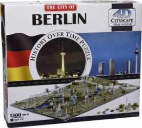 BERLIN Puzzle 4D Cityscape Jucarii Interactive