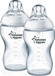 Biberon copii Tommee Tippee Closer To Nature Bottle PP Set 2 x 340ML Biberoane, tetine si accesorii
