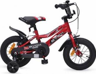 Bicicleta Copii Byox 12 Ferine, Rosu Biciclete pentru copii