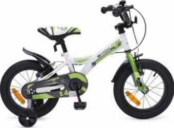Bicicleta Copii Byox 14 RAPID Verde Biciclete pentru copii