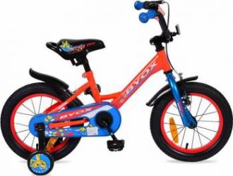 Bicicleta Copii Byox 14 Sharky, Rosu Biciclete pentru copii