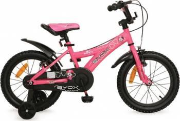 Bicicleta Copii Byox 16 DEVIL Roz Biciclete pentru copii