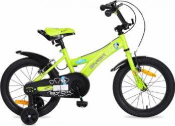 Bicicleta Copii Byox 16 Devil Verde Biciclete pentru copii