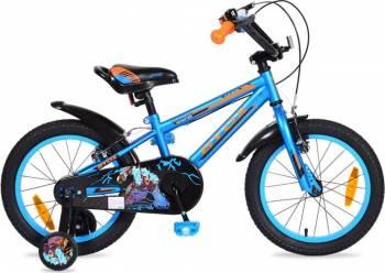 Bicicleta Copii Byox 16 Monster Albastru Biciclete pentru copii