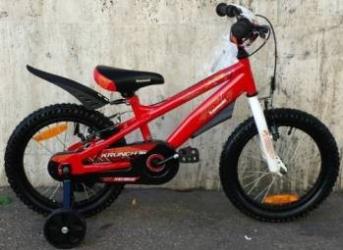 Bicicleta copii Kawasaki Krunch red 16 Ironway Biciclete pentru copii
