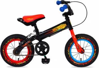 Bicicleta Copii Moni Balance 2 In 1 On Fire Biciclete pentru copii
