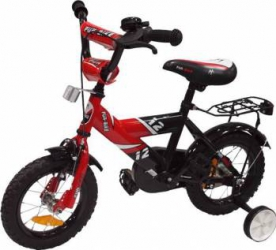 Bicicleta copii MyKids Fun Bike 888 Red 12