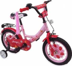 Bicicleta copii MyKids Jenny 777 G Pink 12 Biciclete pentru copii