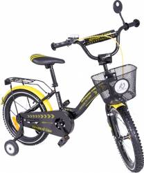 Bicicleta copii MyKids Toma Exclusive 1605 Yellow