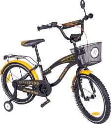 Bicicleta copii MyKids Toma Exclusive 1802 Orange