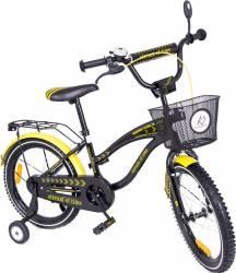 Bicicleta copii MyKids Toma Exclusive 1805 Yellow