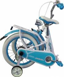 Bicicleta copii pliabila Lambrettina blue 16 ATK Bikes Biciclete pentru copii