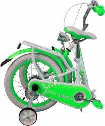 Bicicleta copii pliabila Lambrettina green 14 ATK Bikes Biciclete pentru copii