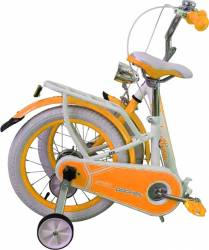 Bicicleta copii pliabila Lambrettina orange 12 ATK Bikes Biciclete pentru copii
