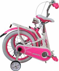Bicicleta copii pliabila Lambrettina pink 14 ATK Bikes Biciclete pentru copii
