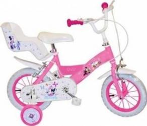 Bicicleta copii Toimsa 12 Minnie Mouse Club House Girl Biciclete pentru copii