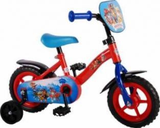 Bicicleta copii Volare Paw Patrol cu roti ajutatoare 10 INCH Masinute si vehicule pentru copii
