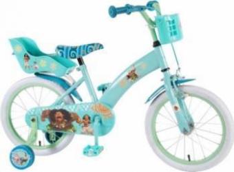 Bicicleta copii Volare Vaiana cu roti ajutatoare 16 INCH Biciclete pentru copii