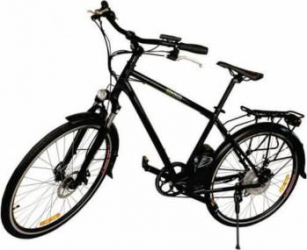 Bicicleta electrica Nova Vento Long Run L2803 Black Vehicule electrice