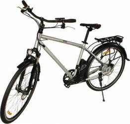 Bicicleta electrica Nova Vento Long Run L2803 Silver Vehicule electrice
