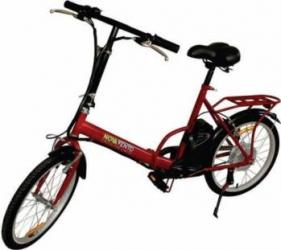 Bicicleta electrica Nova Vento Smart City T2009F Red Vehicule electrice