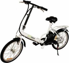 Bicicleta electrica Nova Vento Smart City T2009F White Vehicule electrice