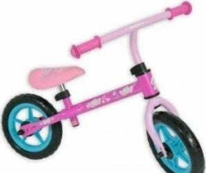 Bicicleta fara pedale Saica Hello Kitty pentru copii roti 12inch