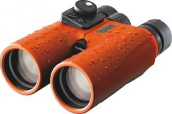 Binoclu Pentax 7x50 Marine Hydro Compass Orange Binocluri