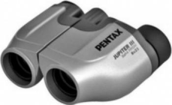 Binoclu Pentax Jupiter III 8x21 Silver Binocluri