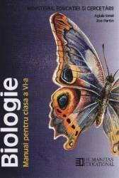 Biologie - Clasa 6 - Manual - Aglaia Ionel Zoe Partin